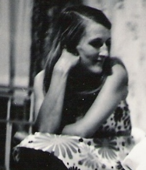 Brenda Dorothy Saunders. Photograph taken in the early 1950's.