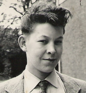 David Burrell. Photograph taken around 1959.